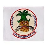 USS EPPERSON Throw Blanket