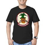 USS EPPERSON Men's Fitted T-Shirt (dark)