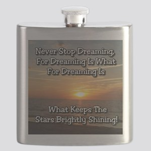 Never Stop Dreaming Flask