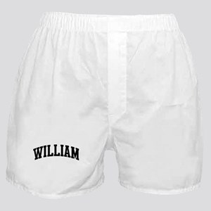WILLIAM (curve-black) Boxer Shorts