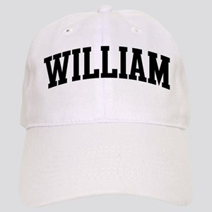 WILLIAM (curve-black) Cap