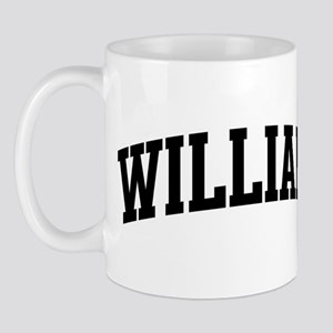 WILLIAM (curve-black) Mug