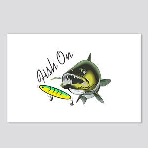 FISH ON Postcards (Package of 8)