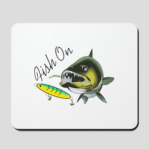 FISH ON Mousepad