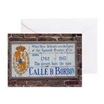 Bourbon St. Plaque Cards (Pk of 10)
