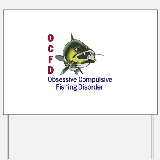 OCFD WALLEYE Yard Sign