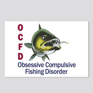 OCFD WALLEYE Postcards (Package of 8)