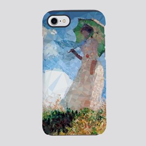 Madame Monet Parasol Low Poly iPhone 7 Tough Case