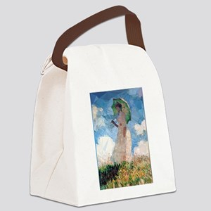 Madame Monet Parasol Low Poly Canvas Lunch Bag
