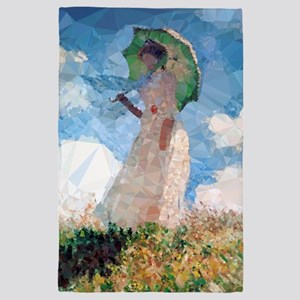 Madame Monet Parasol Low Poly 4' X 6' Rug