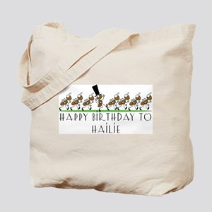 Happy Birthday Hailie (ants) Tote Bag