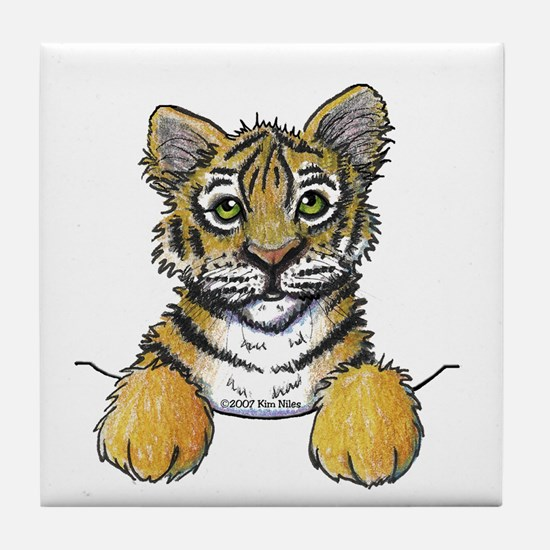 Pocket Tiger Tile Coaster