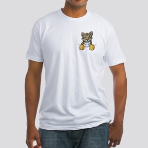 Pocket Tiger Fitted T-Shirt