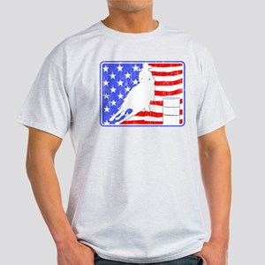 Barrel Racer (Flag Aged) Light T-Shirt