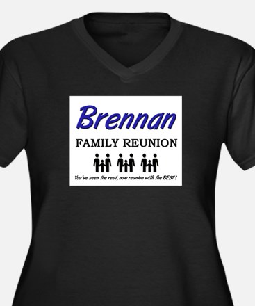 Brennan Family Reunion Women's Plus Size V-Neck Da