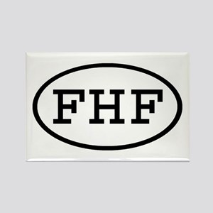 FHF Oval Rectangle Magnet