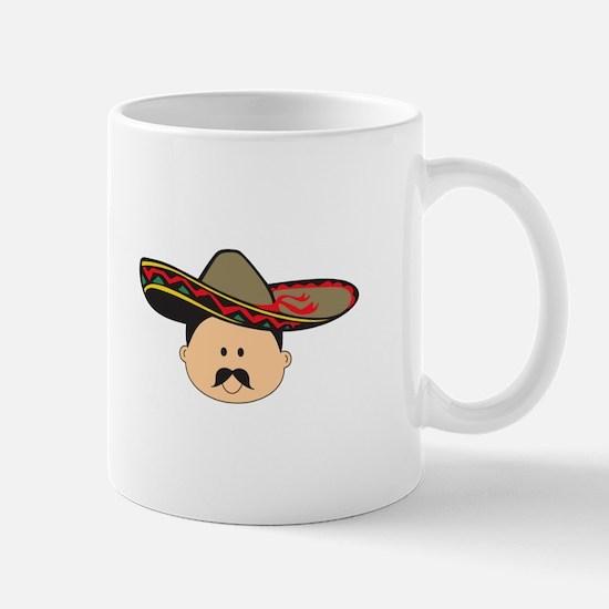 MAN IN SOMBRERO Mugs