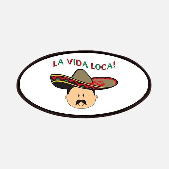 LA VIDA LOCA THE CRAZY LIFE Patch