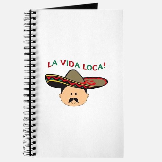 LA VIDA LOCA THE CRAZY LIFE Journal