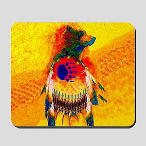 Bear Warrior Mousepad