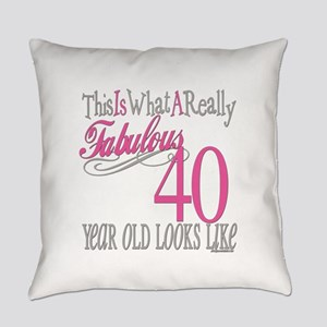 Fabulous 40yearold copy Everyday Pillow