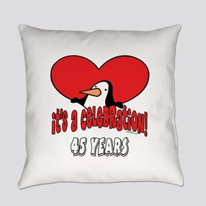 PenguinCel45 Everyday Pillow