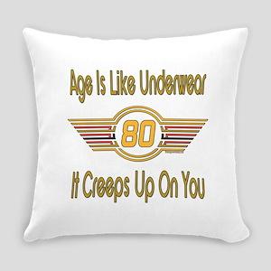 BirthdayUnderwear80 Everyday Pillow