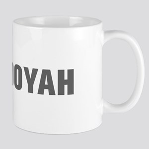 Booyah-Akz gray Mugs