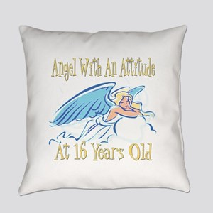 AngelAttitude16 Everyday Pillow