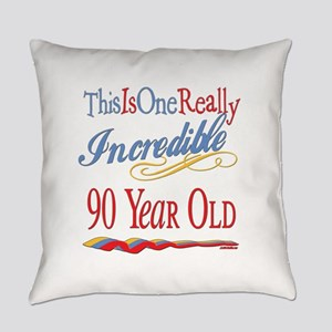 Incredibleat90 Everyday Pillow