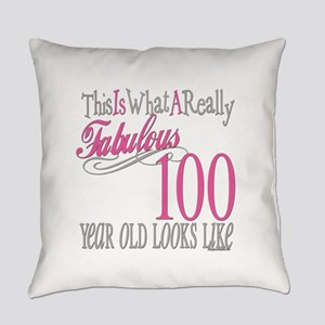 Fabulous 100yearold Everyday Pillow