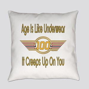 BirthdayUnderwear100 copy Everyday Pillow