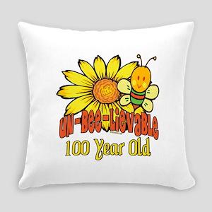 UNBELIEVABLEat100 Everyday Pillow