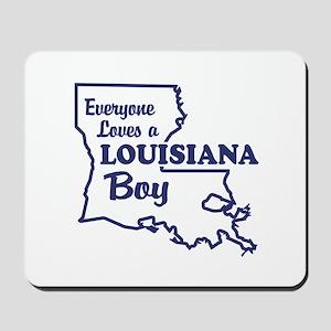 Louisiana Boy Mousepad