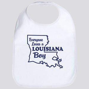 Louisiana Boy Bib