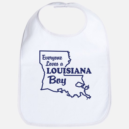 Louisiana Boy Bib