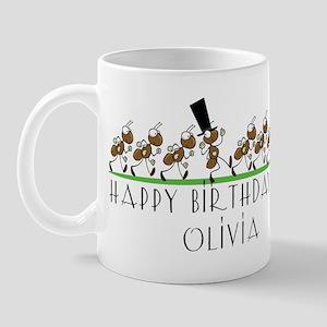 Happy Birthday Olivia Mugs Cafepress