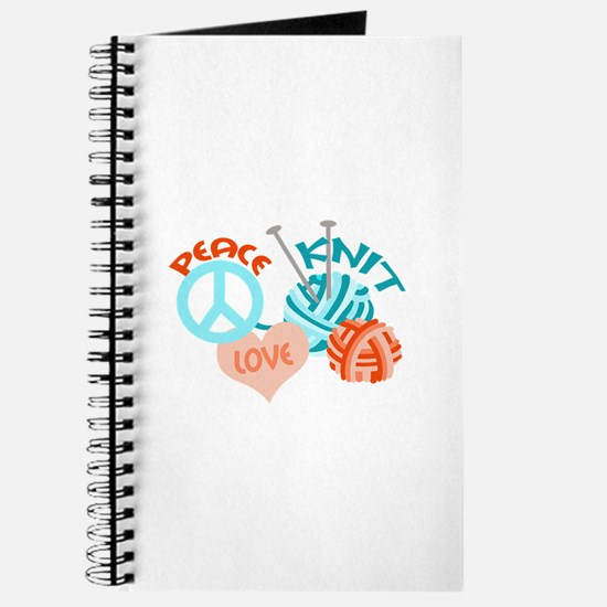 PEACE LOVE KNIT Journal
