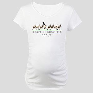 Happy Birthday Nancy (ants) Maternity T-Shirt