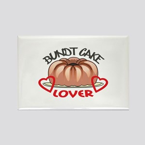BUNDT CAKE LOVER Magnets