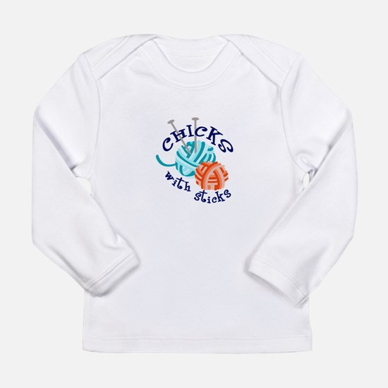 CHICKS WITH STICKS Long Sleeve T-Shirt
