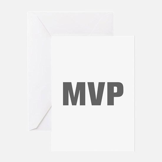 MVP-Akz gray Greeting Cards