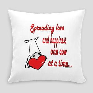 SpreadinLovecow copy Everyday Pillow