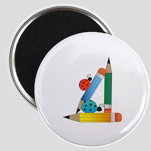 LADYBUGS ON PENCILS Magnets