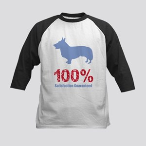 Cardigan Welsh Corgi Kids Baseball Jersey