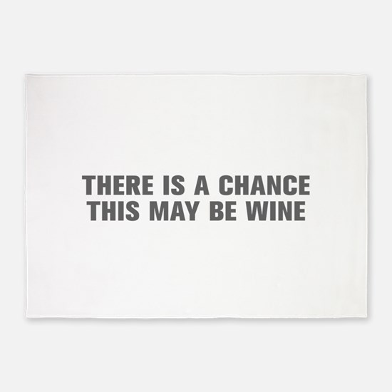 There is a chance this may be wine-Akz gray 5'x7'A