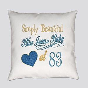 Blue Jeans Baby 83 Everyday Pillow