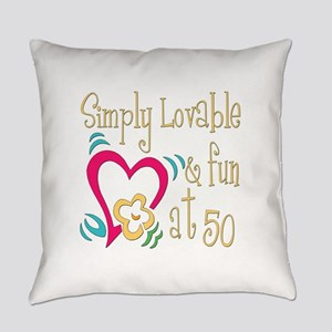 Lovable50 Everyday Pillow