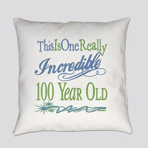 IncredibleGreen100 copy Everyday Pillow