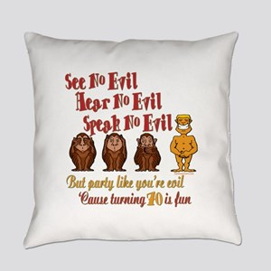 partyevil70 Everyday Pillow